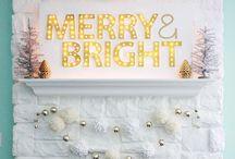 christmas! / by Lindsay @ Hello Hue