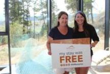 #SHRsurprise / Every 100th guest staying during our 'It Pays to Stay' promotion will receive their entire stay for FREE!   For more information on this promotion, check out: http://www.sparklinghill.com/ChangingLives
