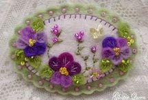 Viola Tricolor / Pansies!  Spring!
