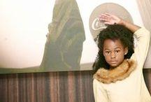 Model Imani visits Atlanta,Georgia