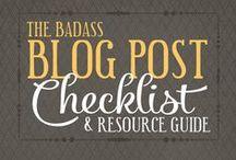Blog Tips / Blogging