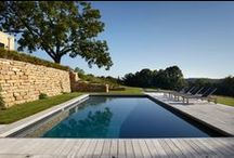 HOME - Farmhouse Pool Inspiration / by Roam & Home