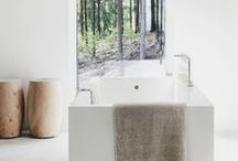 HOME - Farmhouse Bathroom Inspiration / by Roam & Home