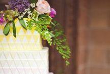 Bright Geometric Wedding Ideas
