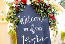 Wedding Signage | Chalkboard Signs | Hand painted Signs
