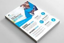 Flyer Design / Showcase of beautiful and creative flyers for inspiration.