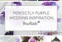 Lavender - Purple Wedding Inspiration