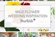 Wild Flower Wedding Inspiration