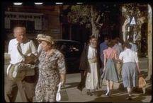 ירושלים - יולי 1950 - אוסף קטקוף   ~ Jerusalem in July 1950 - Seymour Katcoff collection / לכבוד יום העצמאות ה-68 תיעוד מיוחד של ירושלים ביולי 1950. סימור קטקוף הוא יהודי אמריקאי שנהג להגיע לביקורים ארוכים בישראל החל משנת 1950 ועד שנות ה1980. את ביקוריו הוא תיעד בצבע וחלק גדול מהתמונות מוקדש לירושלים. התמונות של סימור מאופיינות בעין רגישה וייחודית, הוא לא נדבק רק לאתרים השגרתיים והתיירותיים אלא גם הפנה מבט למבנים יוצאי דופן, שינויים חדשים בהתפתחות של העיר ומבט מיוחד ואוהד של האנשים שחיו בירושלים הישראלית.