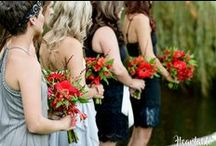 Red, Black, Grey & White Cocktail Style Wedding | Heartable Real Bride / Laid-back luxury | Cocktail Style Garden Wedding by www.heartable.co.za