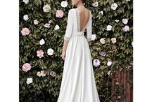 Wed. dresses