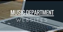 Music Dept Websites