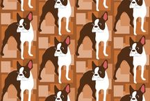Bostons Unite / A shout-out to all Boston-lovers and Boston Terriers / by Mary Anne Trunnell