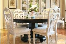 Home Ideas: Dining Room / All about dining room makeovers the Refresh Restyle style way!