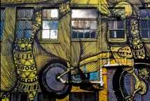 Street Art / One of my favorite activities, when I visit a city, is looking for great street art and graffiti.   Browse through my collection of street art around the world.  #travel #streetart #graffiti
