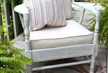 Home Ideas: Outdoor Decor / All about outdoor décor: docks, porches, etc. / by Refresh Restyle Debbie Westbrooks