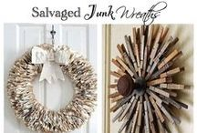 Wreath Inspiration / All about gorgeous DIY wreaths for all seasons.