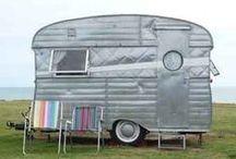 Retro Camper / Vintage Ham Campers. Serro Scotty. Shasta. Airstream. Camper Interiors.