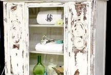 DIY Painted Furniture / Repurposed, furniture ideas. DIY Furniture Inspiration! From painting to reinventing it will be on this board.