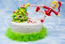 Cakedesign (Christmas & Halloween)