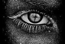 See / Eyes. Vision. Direct eye contact.
