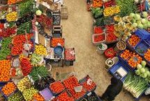 PLACES: Street Markets Around the World / by Irene Kusters Berney
