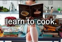 Food: Learn to cook / by Irene Kusters Berney