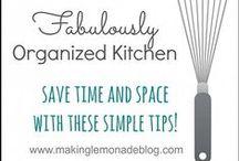 DESIGNS: Kitchen Organization / by Irene Kusters Berney