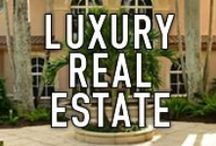 LUXURY REAL ESTATE / This Pinterest board is dedicated to luxury homes and images of these plush and amazing homes, condominiums and real estate. The homes on this board are majestic waterfront of sprawling real estate. #waterfrontproperties #luxuryhomes #luxuryrealestate / by Waterfront Properties