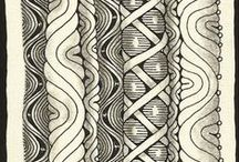Sketch Pad / Right Brain Release. Zentangle, doodle, diagrams for creative unblockage