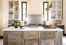 Home Ideas: Kitchen / All about gorgeous kitchens that make me want to cook all day! / by Refresh Restyle Debbie Westbrooks