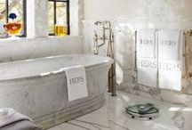 Home Ideas: Bathroom / Gorgeous and relaxing bathrooms. / by Refresh Restyle Debbie Westbrooks