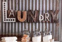 Home Ideas: Utility / All about decor for the laundry room, mudroom, and garage!
