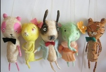 Handmade Dolls that I Love! / Dolls made by other artists. / by Sunny Carvalho