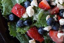 Salads & Dressings / salads and salad dressings