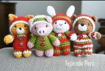 Amigurumi / Aprende a tejer estos lindos muñecos en la técnica del amigurumi (crochet). / by Tejiendo Perú