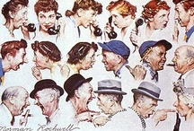 I love Norman Rockwell / by Adjoa Skinner