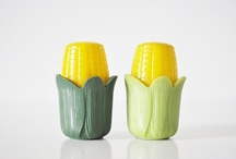 A virtual collection of salt & pepper shakers