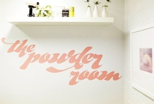 the powder room / by Jade Sangha