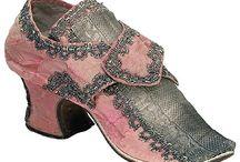 zapatos y accesorios antiguos