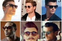 Men with Sunglasses / Celebrity men in sunglasses or just hot men in sunglasses!  You're welcome! :)