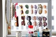 Forever Stylish Storage Ideas  / Here are a few awesome storage ideas for your sunglasses.