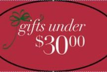 Gift Ideas Under $30 / Here are some of our favorite affordable gifts.  We will be adding new items every day, so make sure you check in.