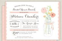 Invitations / by Jenny Hanger
