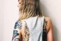 Think Ink / art drawn on the body