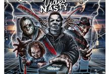 VIDEO Box Art / The nice and video nasty covers from back in the day. VHS, Betamax & V2000