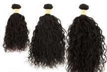 Unprocessed Human Hair / by Hair Sisters