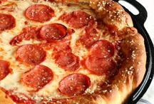 Pizza Recipes / This board is full of pizza recipes that will knock your socks off! Dessert pizza and savory pizza recipe is the purpose of this board. This board is full of easy pizza recipes.