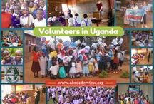 "Volunteer Uganda / http://www.abroaderview.org/volunteers/uganda Volunteering Abroad in Uganda: The land of Lake Victoria, is situated in East Africa surrounded by Kenya, Sudan, Democratic Republic of Congo, Tanzania and Rwanda. It has a population of 27 million, over half of which are under 18 years of age. Famously called the ""Pearl of Africa"" by Winston Churchill, it is home to one of the most diverse and concentrated ranges of African fauna including the highly endangered mountain gorilla and the chimpanzee. / by ABroaderview Volunteers Abroad"