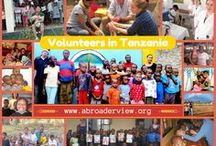 Volunteer Tanzania Arusha - Moshi / Volunteer Tanzania Arusha Health CAre, Orphanage, Teaching, social programs https://www.abroaderview.org / by ABroaderview Volunteers Abroad
